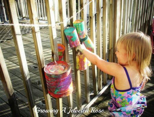 Growing A Jeweled Rose: Tin Can Backyard Band