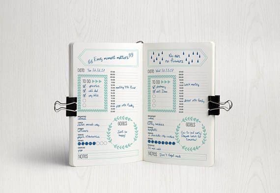 Bullet Journal Printable, Bullet Journal Kit, Bullet Journal