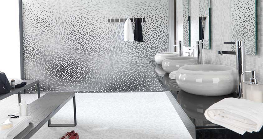 Mosaico Variaton Greys Pavimento Blanco Almeria Greys L Antic