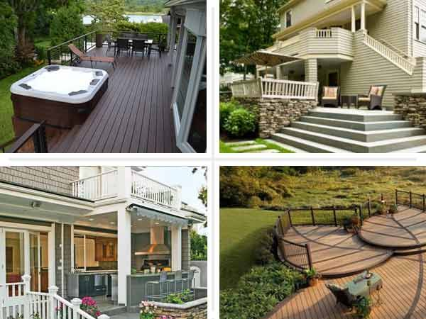Beautiful Patio Deck Designs Ideas
