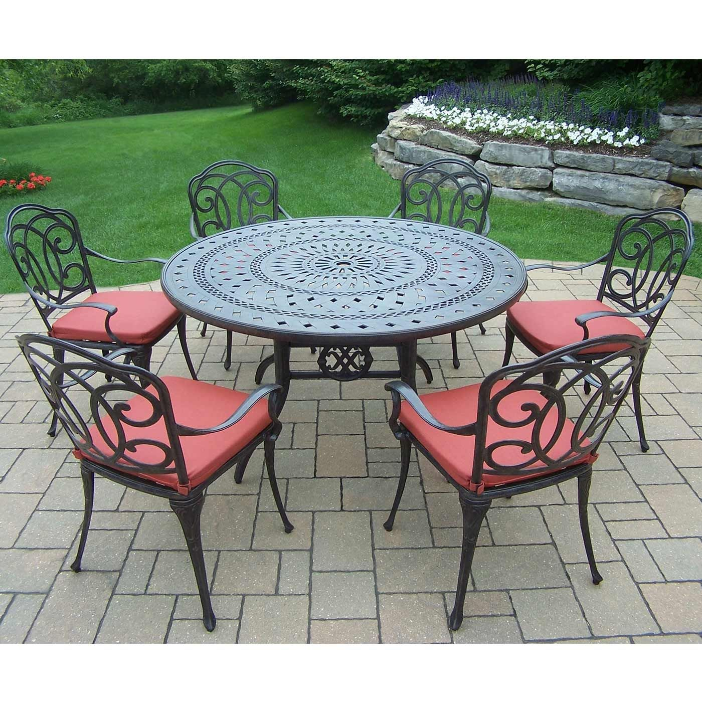 54 round patio table patio decor pinterest