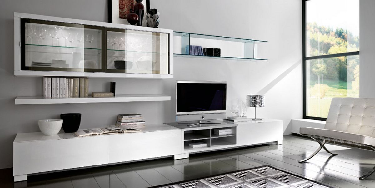 Living Room Cabinets Designs Mesmerizing White Cabinet And Bookshelves For Amazing And Luxury Black White Inspiration