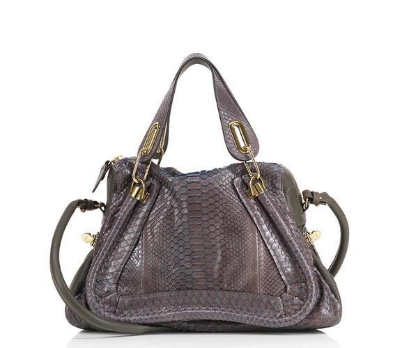 7e522d2f Chloe Paraty Medium Purse in Python Rock | bags purses | Chloe ...