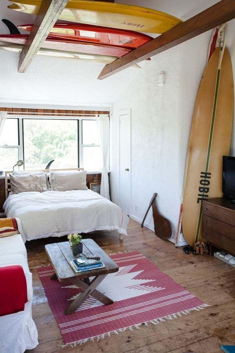 Déco chambre enfant avec planche de surf- 19 inspirations!  Idée