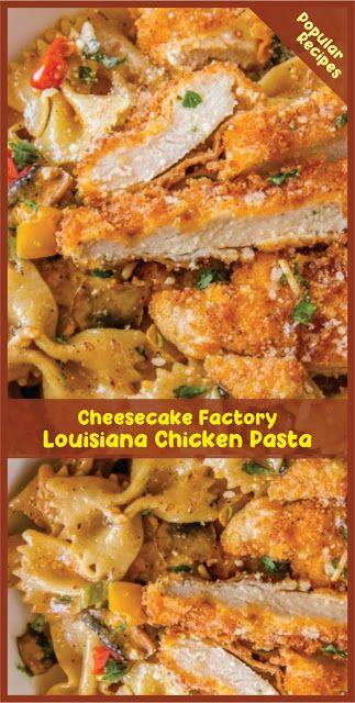 CHEESECAKE FACTORY LOUISIANA CHICKEN PASTA | Recipe Spesial Food #cheesecakefactoryrecipes