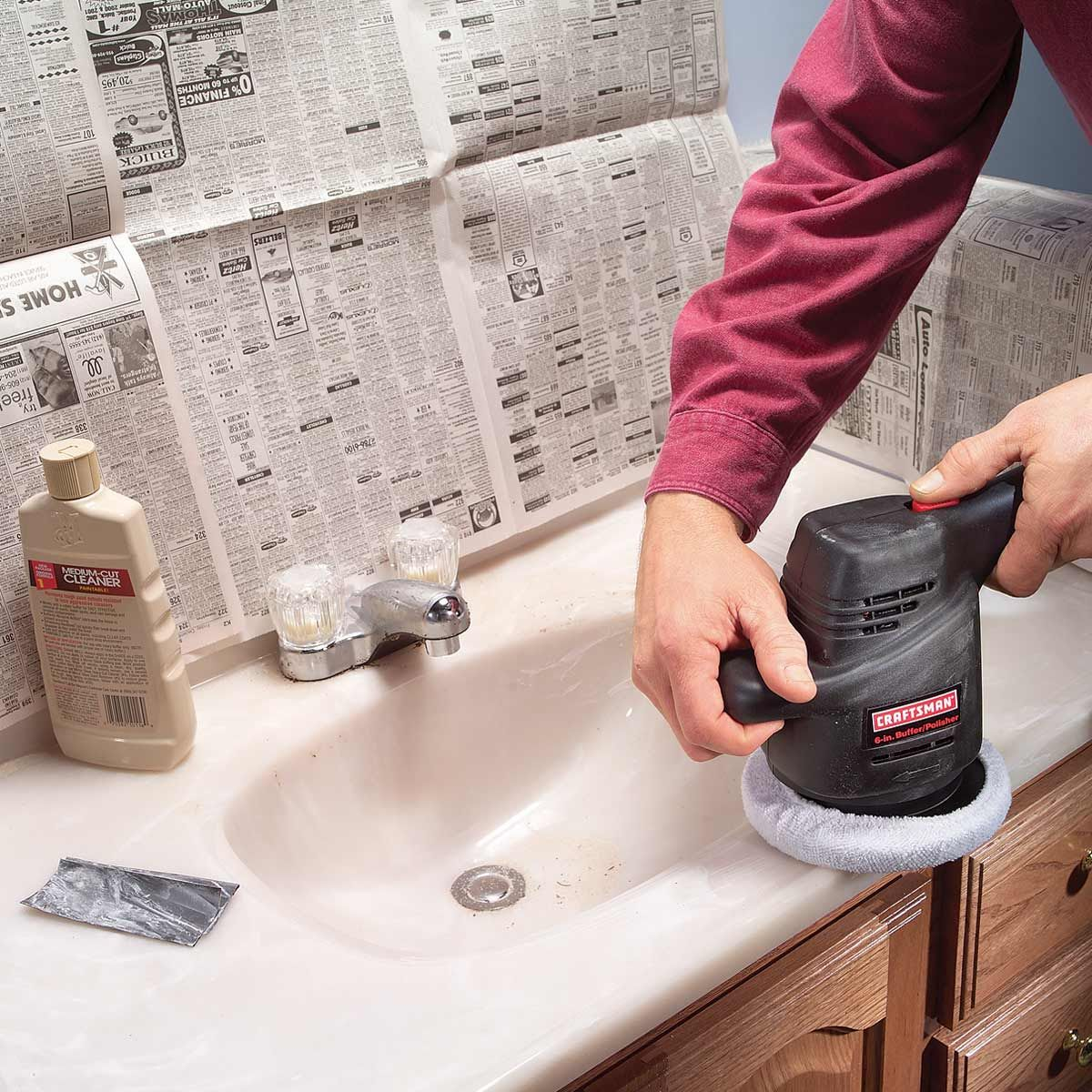How To Renew A Scratched Countertop Marble Countertops Bathroom