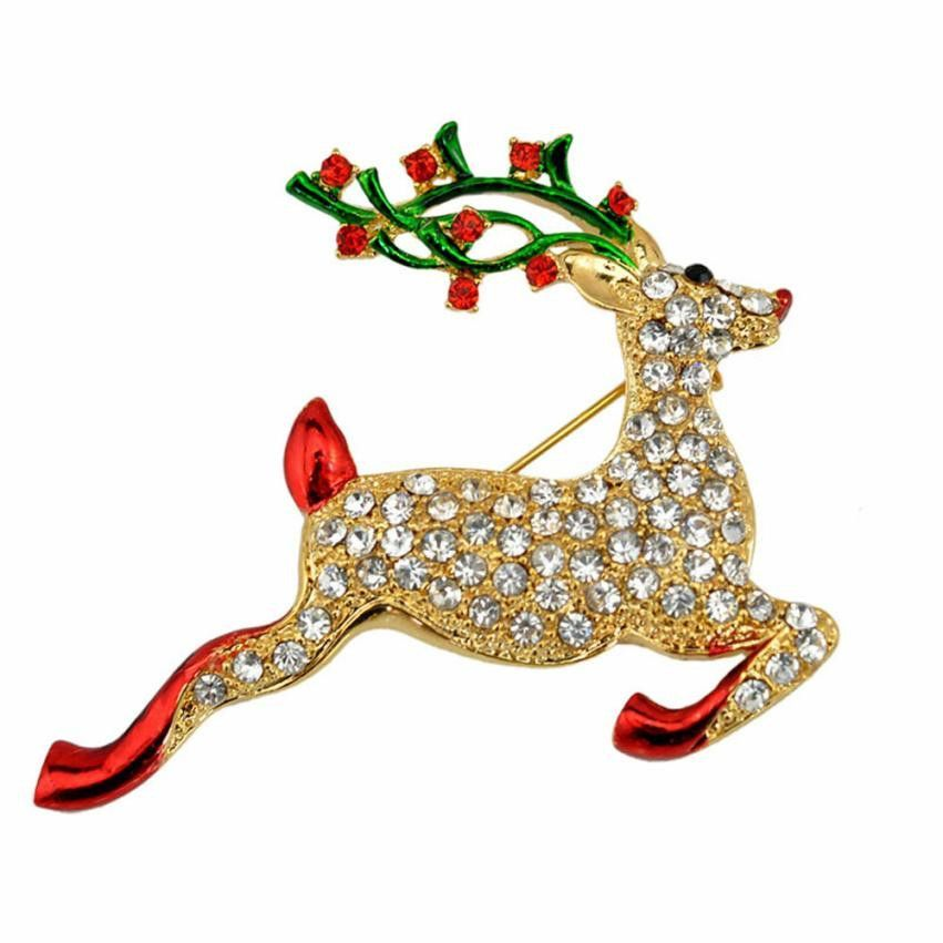 Lovely Christmas Deer Brooch  #brooch #pin #accessories #fashion