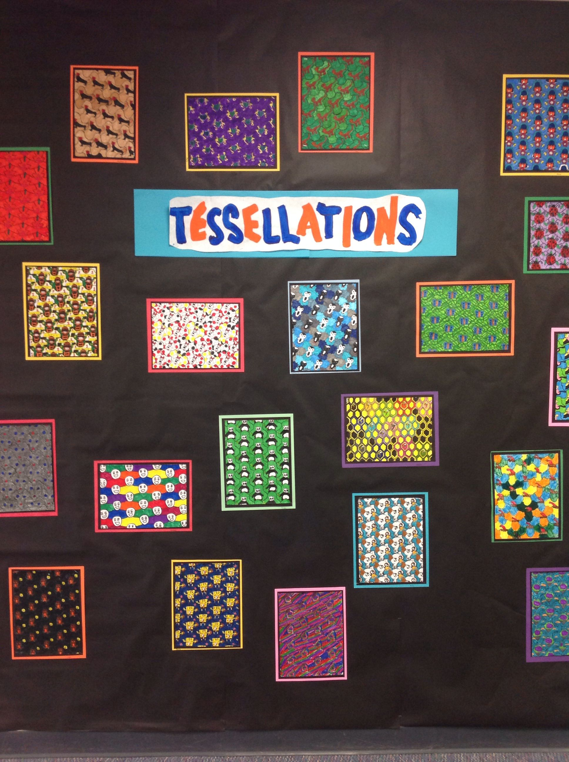 Beautiful Tessellations Lesson 5th Grade