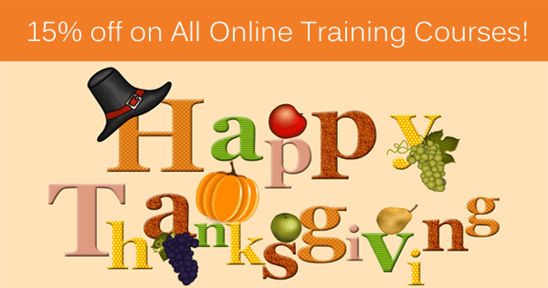 Thanksgiving Offer Get 15 off on All Courses (Valid till