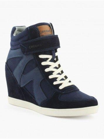 Baskets compensées | Zapatos, Zapato tenis, Zapatillas