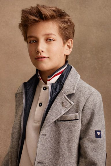5c4bd8e4eb Armani Junior Online Store - Fall Winter 2014 collection | Jackson ...