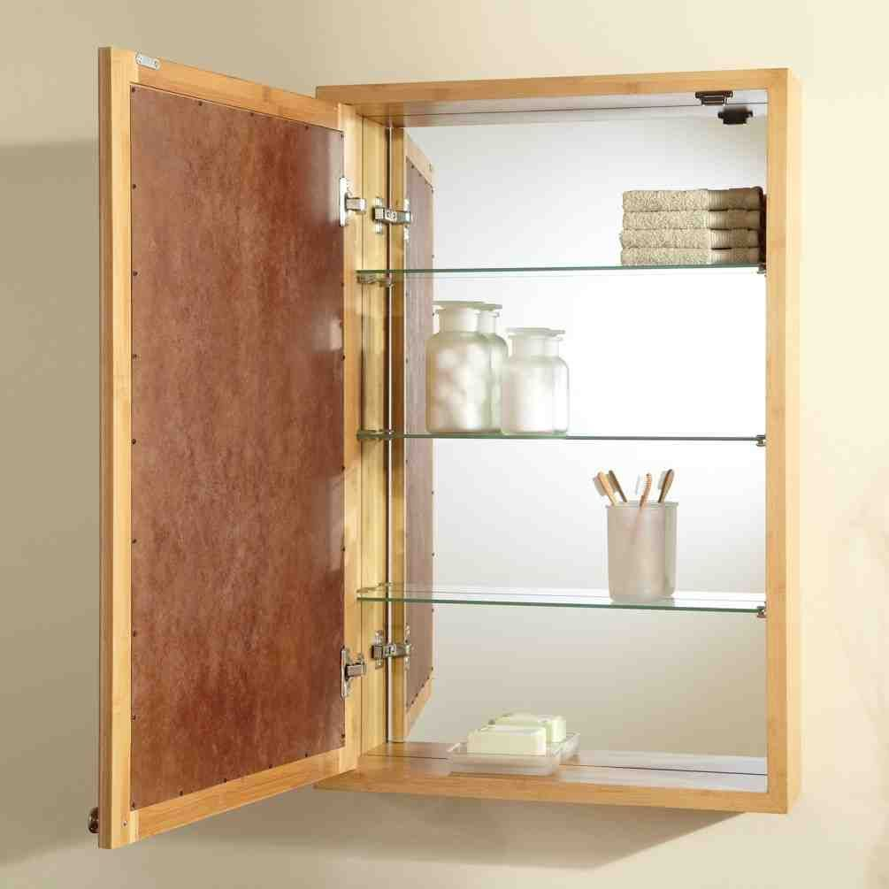 Fresh Wood Medicine Cabinets Surface Mount
