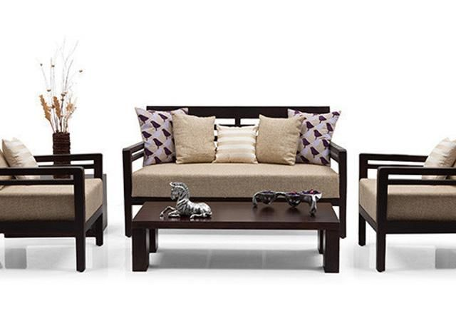 Wooden Sofa In Mahagony At Offer Price Kerala Classify Wooden Sofa Designs Wooden Sofa Set Living Room Sofa Set