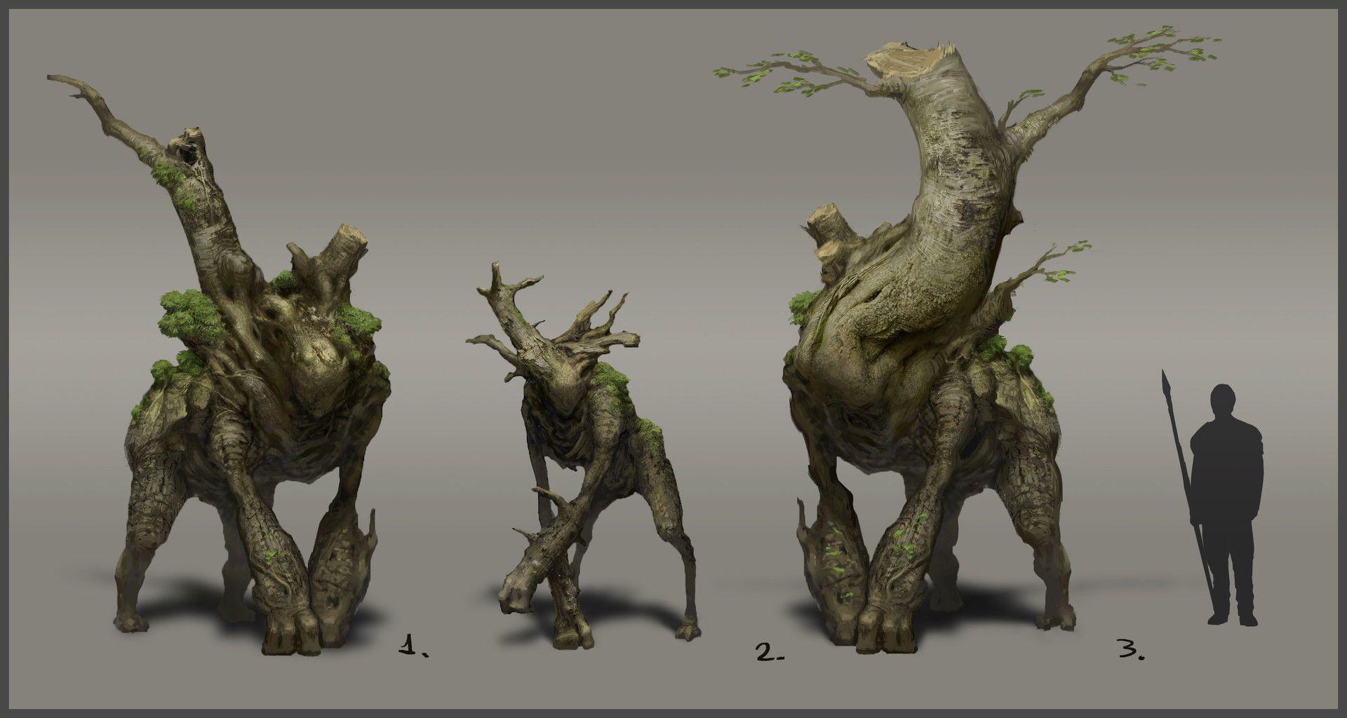 ArtStation - Forest guardian, David Masson