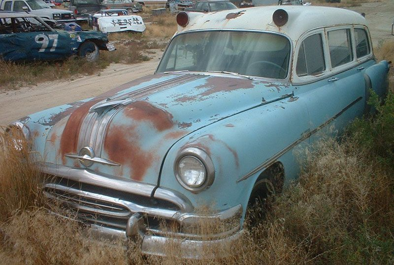 1954 Pontiac Chieftain Eight 5 Door Commercial Ambulance For