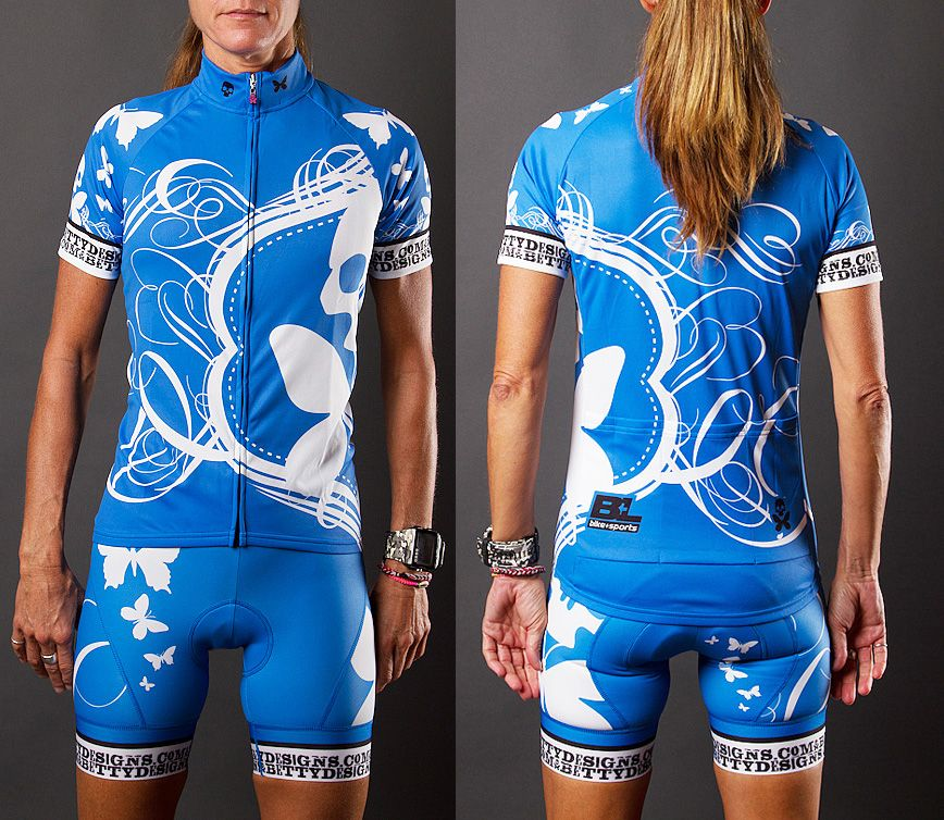 51b56e0ff98 Semi custom design of The Betty Cycle Kit exclusively for B+L Bike and  Sports