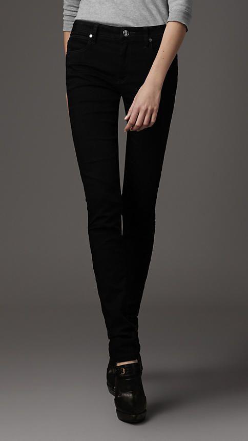 Burberry, Thurlestone black skiny fit jeans F/W 2012-2013