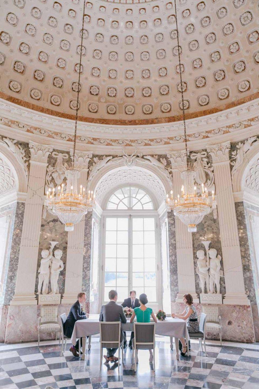 Standesamtliche Hochzeit Im Schloss Benrath Fotografie Frank Beer