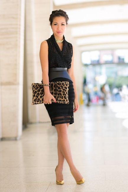 Top :: Maurie & Eve  Bottom :: Forever 21  Bag :: Valentino   Shoes :: Brian Atwood   Accessories :: BCBG belt, By Malene Birger necklace.