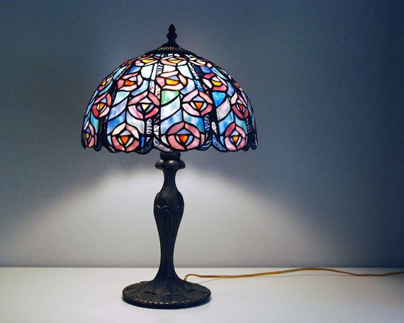 Tiffany Style Lamp Shades Stunning Tiffany Style Lamp Stained Glass Lamp Shadecalloohcallay Inspiration