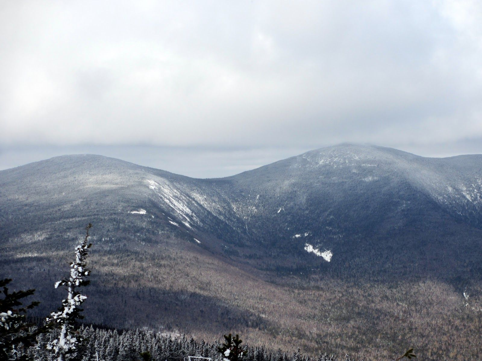 Crocker Mountain is a 4,228 ft peak located in Carrabassett Valley, Franklin County, Maine, in the United States.