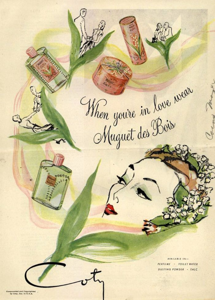 Coty Muguet Des Bois  http://www.thegipsyintheparlour.com/2012/05/lily-of-valley-weller-coty.html