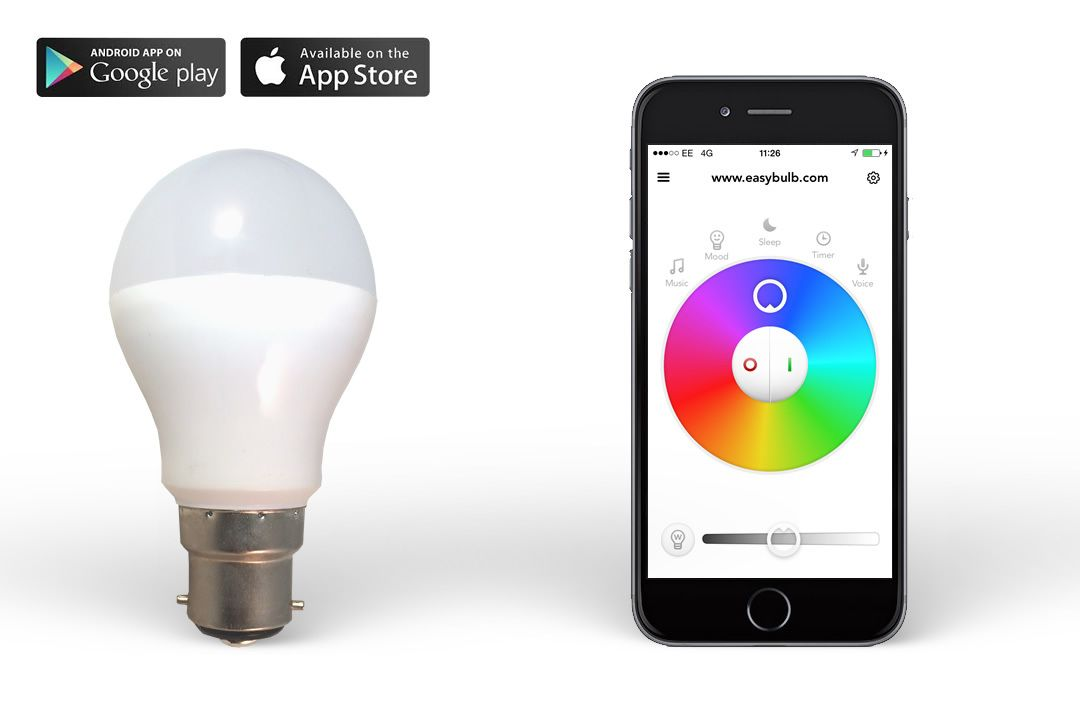 iphone controlled lighting automation philips hue equivalent smart easybulb rgbw iphone controlled led light bulb 6w remote and phone control