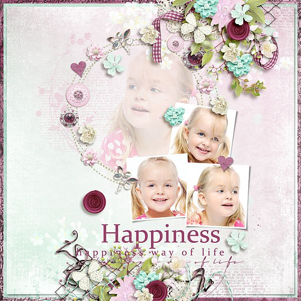 Happiness Way - Eudora Designs http://www.pickleberrypop.com/shop/product.php?productid=50742  Circles of Love #6 Template - Heartstrings Scrap Art https://www.pickleberrypop.com/shop/product.php?productid=50958