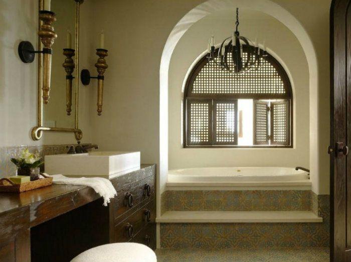 Exotische Fliesen für ein schönes Badezimmer Moroccan bathroom