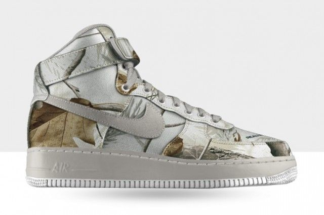 NIKE ID AIR FORCE 1 REALTREE CAMO OPTIONS | AIR FORCES