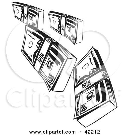 Royalty Free Rf Clipart Of Bank Notes Illustrations Vector