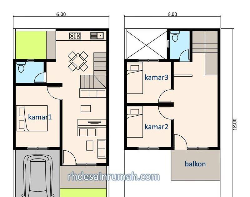 Denah Rumah 3 Kamar Ukuran 6x12 Jasa Desain Rumah Online 30 Desain Denah Rumah Minimalis 2 Lantai Sederhana Modern De Denah Rumah Rumah Minimalis Minimalis