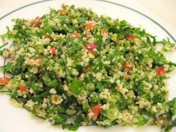 Tabouleh Erfrischender arabischer Petersiliensalat - Rezept mit Bild