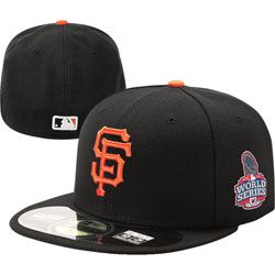 f5343e041bc San Francisco Giants Youth Official 2012 World Series 59FIFTY On Field  Fitted Hat http
