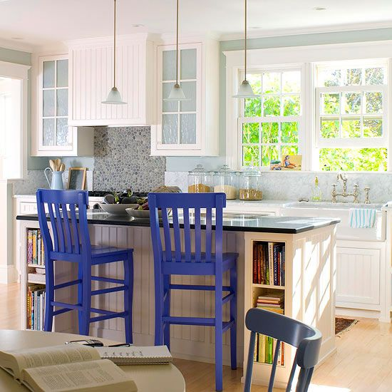Country Kitchen Ideas Kitchen styling, Bright and Kitchens