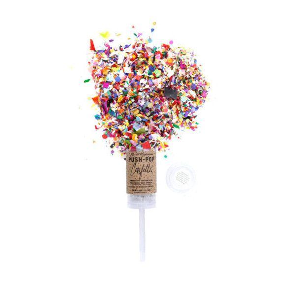 Thimblepress: Push-Pop Confetti Single Pop