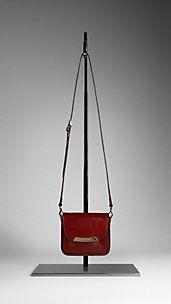 Bridle Leather Crossbody Bag\ Burberry