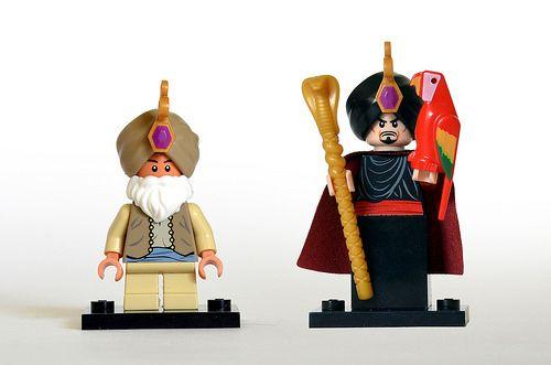 Aladdin LEGO Disney Minifigures Series 2 JAFAR Lego Minifigure