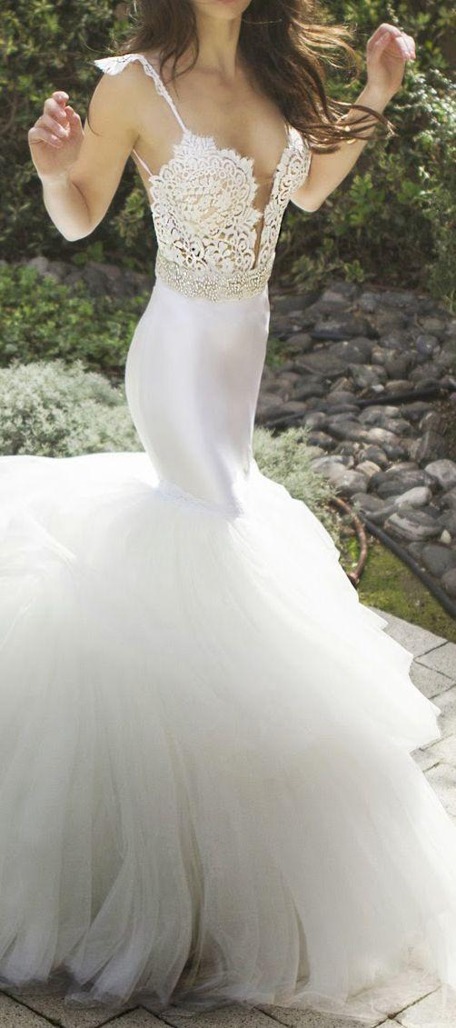 Zahavit Tshuba 2015 Bridal Collection | Mein leben, Hochzeitskleider ...