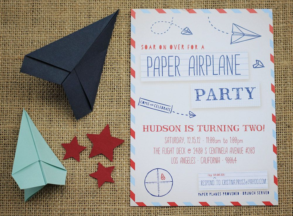 Paper Airplane Party