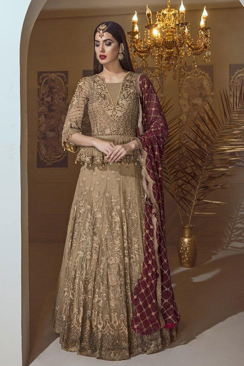 a00e45fa7a Eshaal Luxury Embroidered Chiffon Collection Vol-4 by Emaan Adeel – Sa –  YourLibaas