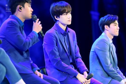 Kai - 160401 Lotte World 'EXO's Secret Night' Credit: The Crescent. (롯데월드 '엑소의 시크릿한밤')