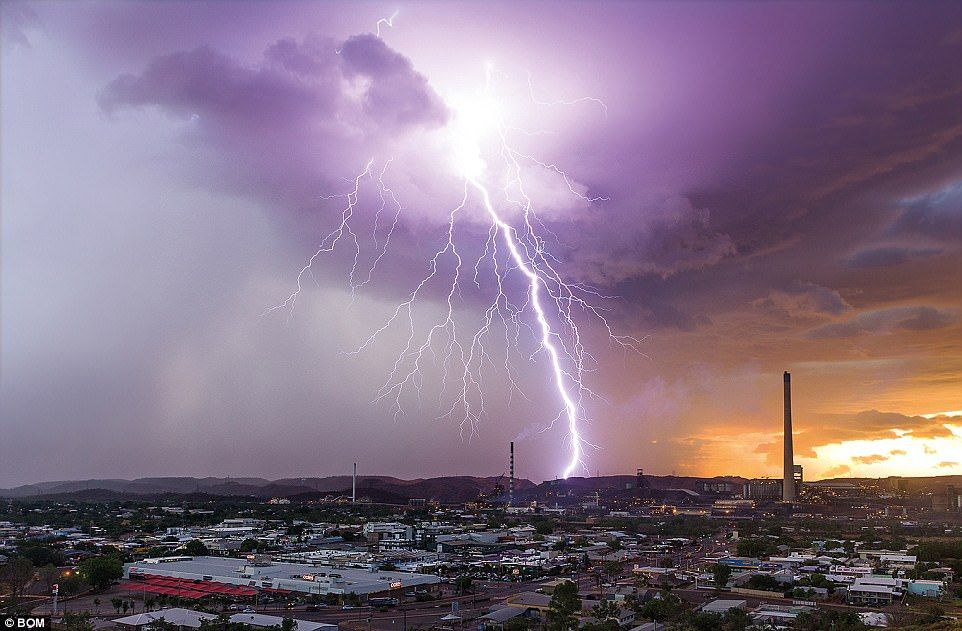 BoM releases jawdropping images of Australian weather