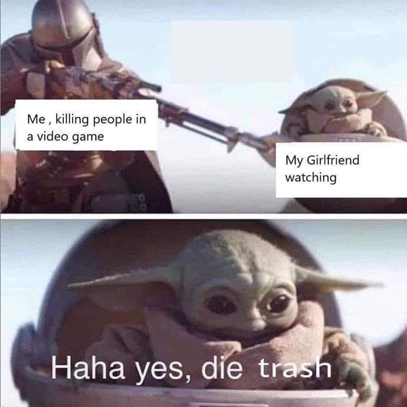 Even More Baby Yoda Memes For The Obsessed Memers Yoda Funny Funny Star Wars Memes Yoda Meme