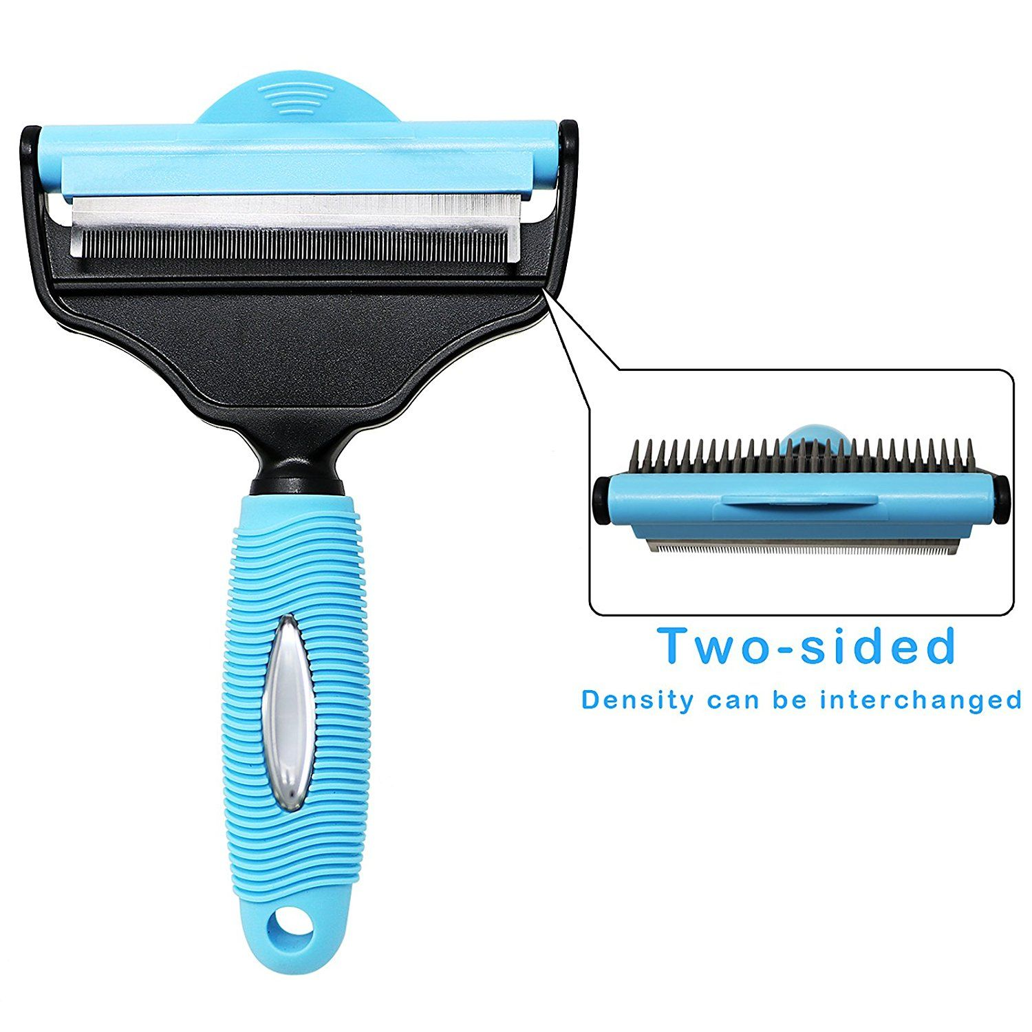 2 in 1 Pet Grooming Supplies Dog and Cat Slicker Brush