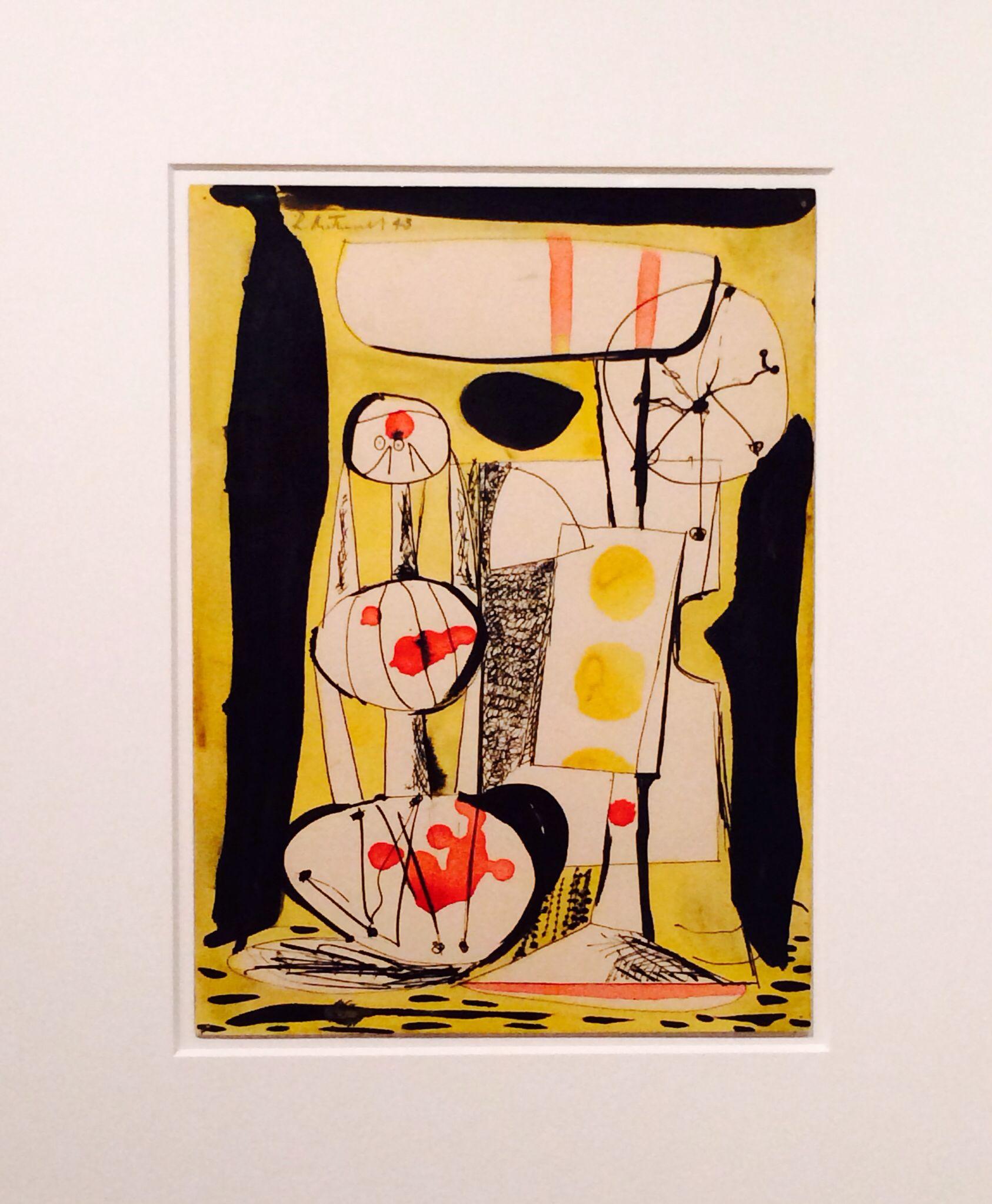 Robert Motherwell at the Guggenheim Museum