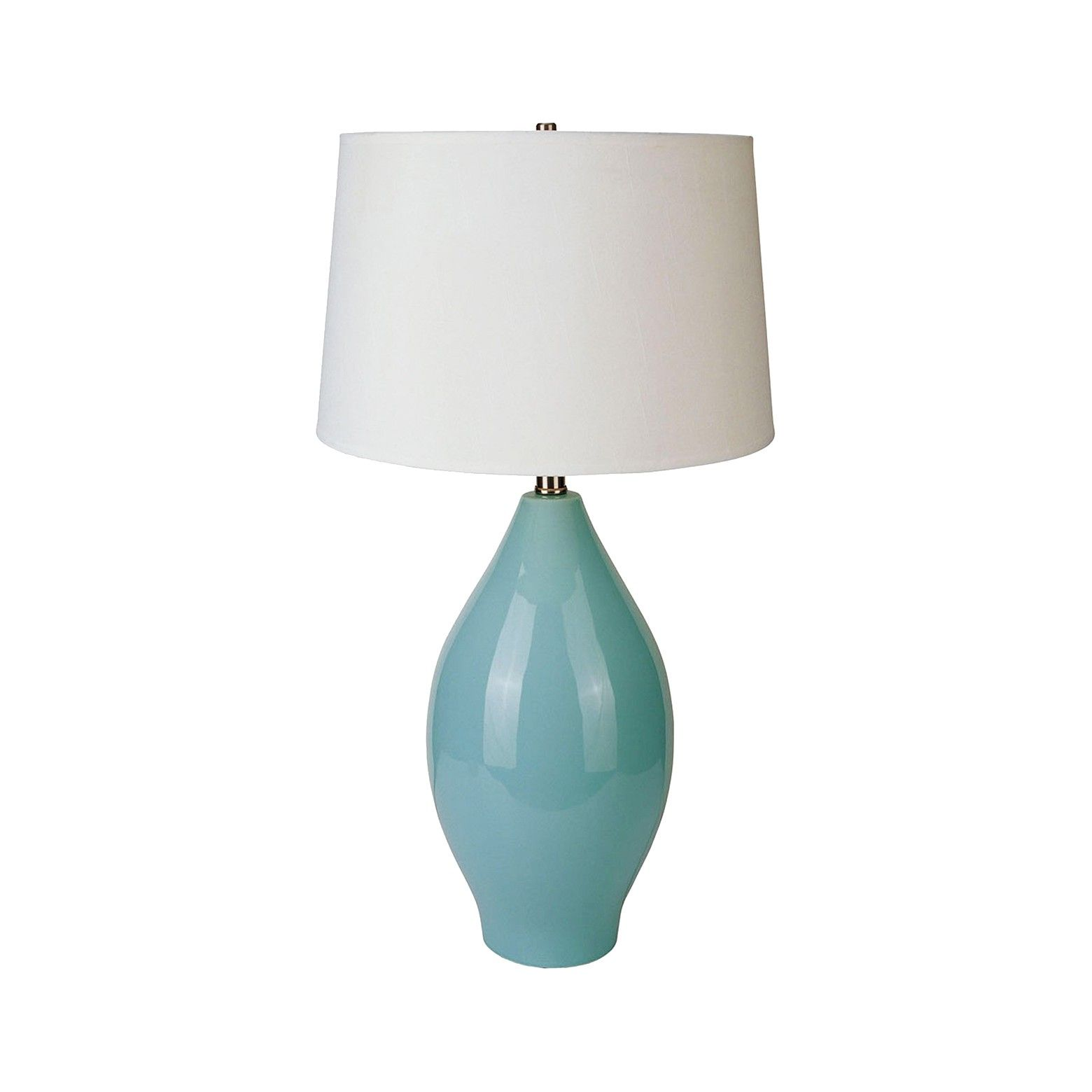 Ore International Table Lamp   Teal Nights