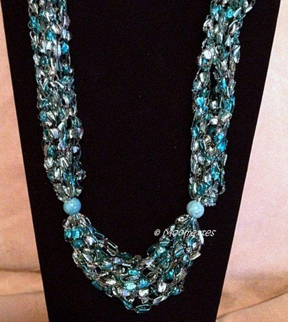 Trellis Necklace Gemstone Beads | Collares | Pinterest | Schmuck ...
