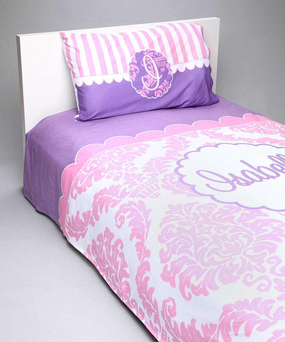 Personalized Damask Bedding Set Duvet Sets Damask