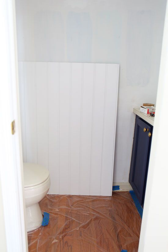 Adding Beadboard In The Bathroom; Weu0027ll Be Doing This In A Few Weeks · Room  MakeoversRoom Decorating IdeasSmall ...